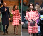 Duchess Of Cambridge  In  Catherine Walker @ Visit To Sweden – Day 2