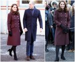 Duchess Of Cambridge In Dolce & Gabbana – Final Day Of  Norway Tour