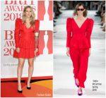 Ellie Goulding  In Stella McCartney  @ BRIT Awards 2018