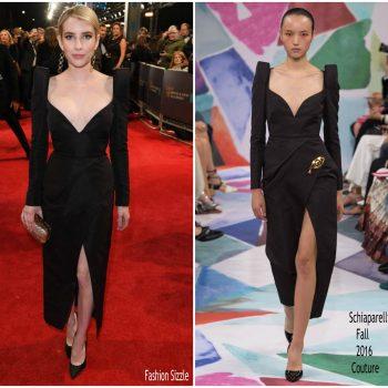 emma-roberts-in-schiaparelli-couture- 2018-baftas