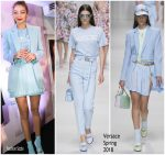 Gigi Hadid In Versace  @ GIGI x MAYBELLINE Toyko Event