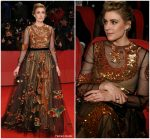Greta Gerwig In Valentino  @ 'Isle of Dogs' Berlinale International Film Festival Premiere & Opening Ceremony