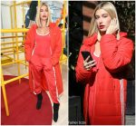 Hailey Baldwin In Adidas  @ Out  In New York