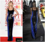 Hailey Baldwin  In Ralph Lauren  @ The BRIT Awards 2018