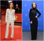 Isabelle Huppert In Roberto Cavalli  @ 'Eva' Berlinale International Film Festival Photocall & Premiere