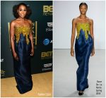 Issa Rae In Oscar de la Renta  @ 2018 American Black Film Festival Honors Awards