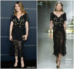Jennifer Jason Leigh In Rodarte  @  'Annihilation' LA Premiere