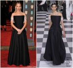 Jennifer Lawrence  In Christian  Dior Couture   @ 2018 BAFTAs