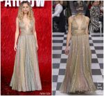 Jennifer Lawrence in Christian Dior  Couture @  'Red Sparrow' London Premiere