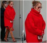Jennifer Lopez In Balenciaga  Shopping in Beverly Hills  California