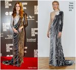 Karen Gillan In Thom Browne  @ 'The Party's Just Beginning' Glasgow Film Festival Premiere