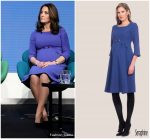 Kate Middleton  In  Seraphine @ Royal Foundation Forum In London