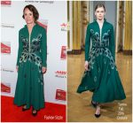 Laurie Metcalf  In Yanina  Couture @  2018 AARP 'Movies For Grownups' Awards.