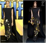 """Leona Lewis  In Stephane Rolland @ """"Black Panther """" European Premiere In London"""