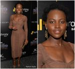 "Lupita Nyong'o In Dolce and Gabbana  @  ""Black Panther"" New  York  Screening"