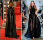 Lupita Nyong'o  In  Elie Saab @ 2018 BAFTAs
