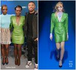 Lupita Nyong'o In Gucci  @ 'Black Panther'  SiriusXM's Town Hall