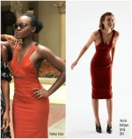 Lupita Nyong'o  In Narciso Rodriguez  @ Black Panther  Press in Johannesburg, South Africa.