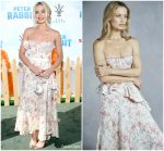 Margot Robbie in Brock Collection @ 'Peter Rabbit' LA Premiere