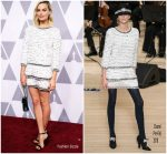Margot Robbie In Chanel – 90th Annual Academy Awards Nominee Luncheon