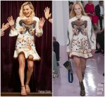 Margot Robbie In Chloe  @ The Late Late Show with James Corden