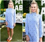 Margot Robbie in Gucci @ 'Peter Rabbit' LA Photocall