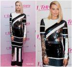 Margot Robbie In Louis Vuitton  @ 'I, Tonya' London Premiere