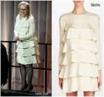 Meryl Streep  In Valentino  @ 90th Annual Academy Awards Nominee Luncheon