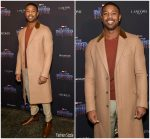 Michael B. Jordan In Prada  @ Black Panther Welcome To Wakanda NYFW Showcase