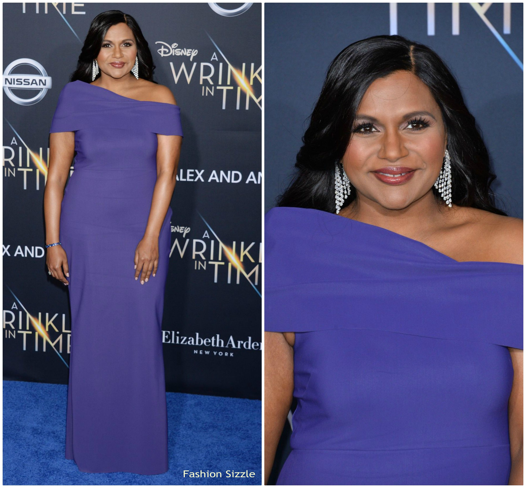 Mindy Kaling In Greta Constantine A Wrinkle In Time La Premiere Fashionsizzle