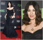 Monica Bellucci In Dolce & Gabbana  @ 'On The Milky Road' LA Premiere
