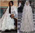Naomi Campbell In Christian Dior Couture @  British Vogue & Tiffany Fashion And Film Party