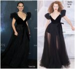 Natalie Portman  In Valentino  @ Annihilation LA Premiere