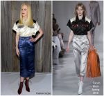 Nicole Kidman In  Calvin Klein  @ Calvin Klein 205W39NYC Fall 2018 Frontrow