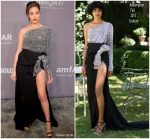 Olivia Culpo In Redemption Couture  @ 2018 amfAR Gala New York