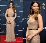 Olivia Munn In Laura Basci  @  #LEGENDARYFUTURE Roadshow 2018