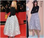 Patricia Clarkson In Christian Siriano  @ 'Isle of Dogs' Berlinale International Film Festival Premiere & Opening Ceremony