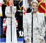 Pink In Rita Vinieris  Performance At 2018  Superbowl