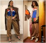 Rihanna In Gucci @  Instragram Pic
