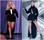 Rita Ora In  Nicolas Jebran Couture  @ The Tonight Show Starring Jimmy Fallon