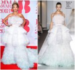 Rita Ora In Ralph & Russo Couture @ The BRIT Awards 2018