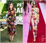 Rose Byrne  In  Dolce & Gabbana @ 'Peter Rabbit' LA Photocall