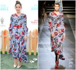 Rose Byrne in Erdem @ 'Peter Rabbit' LA Premiere