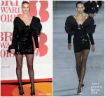 Rosie Huntington-Whiteley  In Saint Laurent  @  BRIT Awards 2018