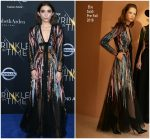 "Rowan Blanchard In Elie Saab  @ "" A Wrinkle In Time "" LA Premiere"