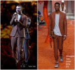 Sam Smith In Ermenegildo Zegna Couture  Performing @ BRIT Awards 2018