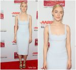 Saoirse Ronan In Narcisco Rodriguez  @  2018 AARP Awards