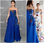 Sarah Hyland  In Carolina Herrera  @ 2018 Costume Designers Guild Awards