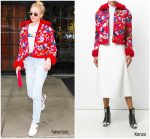 Sophie Turner In Kenzo Out In New York