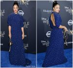 "Tessa Thompson In Miu Miu    @ "" A Wrinkle In Time "" LA Premiere"